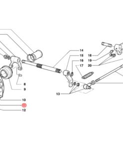 Meccanismo frizione d. 215
