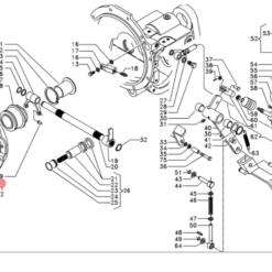 Meccanismo frizione d.300