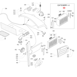 Filtro aria cabina categoria 4