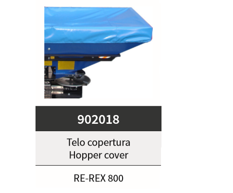 telo copertura per Re-x800 cod.902018