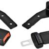 Cintura di sicurezza con arrotolatore e staffa 12,5cm omologato 63003