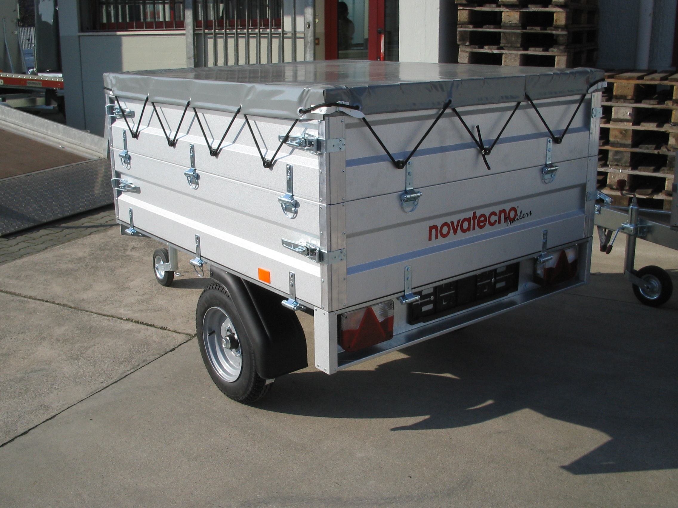 Rimorchio Novatecno Cargo 750 Sf Serie Hobby