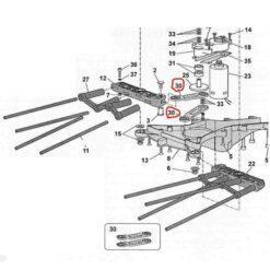 Kit bielle zanon 2060052
