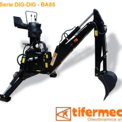 retroescavatore Tifermec BA 85