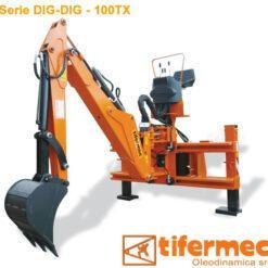 Retroescavatore tx 100